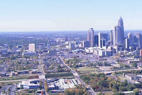 Uptown Charlotte Sky View